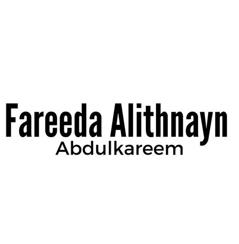 Fareeda Alithnayn Abdulkareem